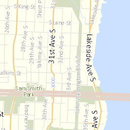 Streets Illustrated Map :: Seattle Streets Illustrated